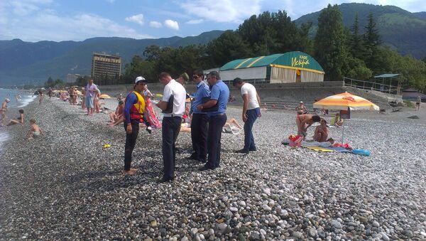 Первый предупредительный рейд провела комиссия на водном транспорте в акватории Гагрского района - Sputnik Абхазия
