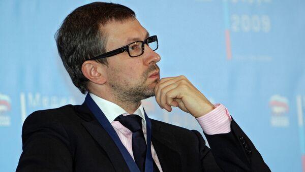 Политолог Алексей Чеснаков. Архивное фото. - Sputnik Абхазия