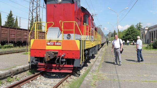 Поезд - Sputnik Абхазия
