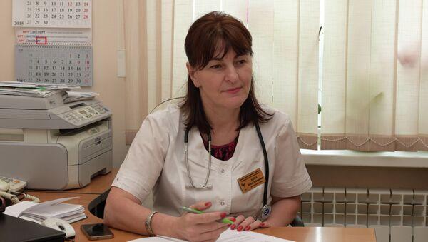Невролог Ирина Ашуба.  - Sputnik Аҧсны