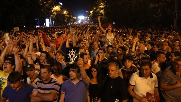 Акция протеста в Ереване - Sputnik Абхазия