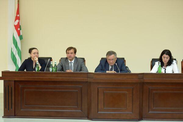 Заседание в Кабмине - Sputnik Абхазия