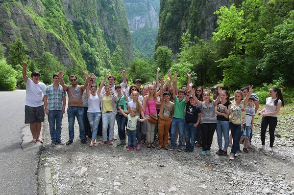 Абхазия глазами молодежи собрала молодых людей со всей республики. - Sputnik Абхазия