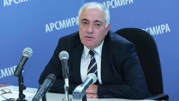 Пресс-конференция Харазия. Фото с места события. - Sputnik Абхазия