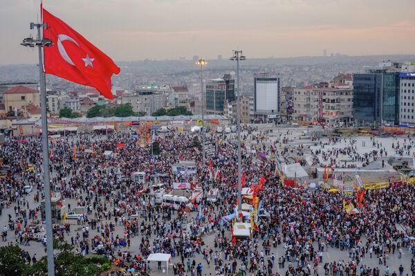 Антиправительственные выступления против исламизации Турции - Sputnik Абхазия