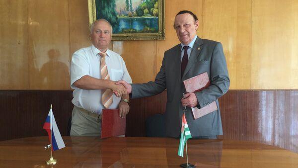 Договор о сотрудничестве подписан между абхазским и нижегородским вузами - Sputnik Абхазия