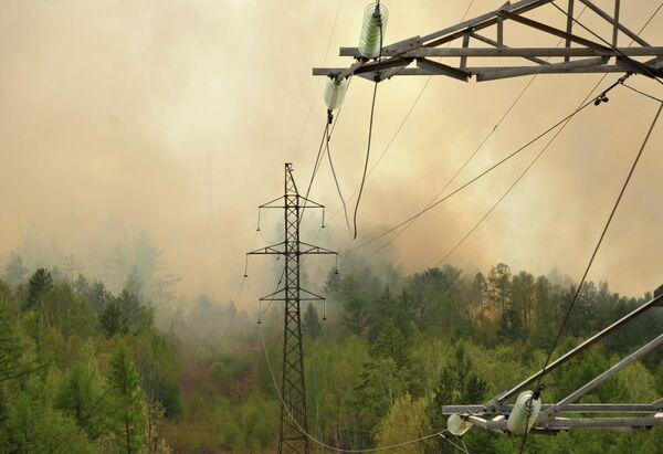Лесные пожары. Архивное фото. - Sputnik Абхазия