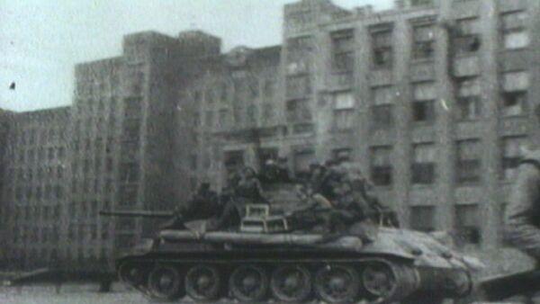 Освобождение Минска от трехлетней оккупации фашистами. Кадры из архива - Sputnik Абхазия