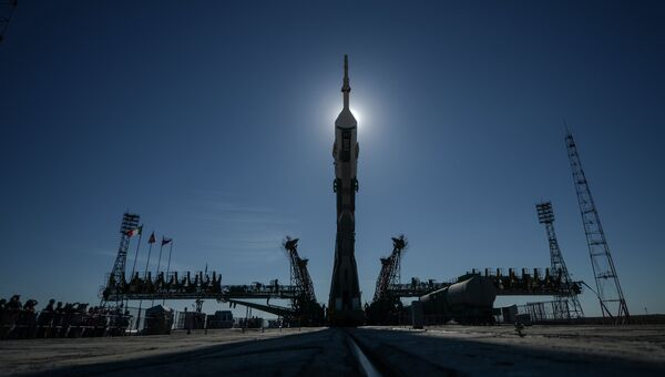 Ракету Союз-ФГ установили на стартовой площадке Байконура - Sputnik Абхазия
