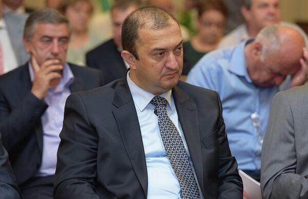 Президент Международного фонда Апсны Сонер Гогуа. Архивное фото. - Sputnik Абхазия