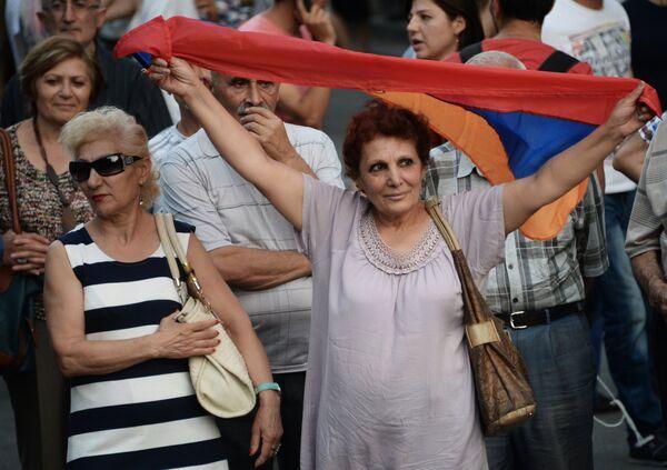 Ситуация в Армении. 2 июля 2015. - Sputnik Абхазия