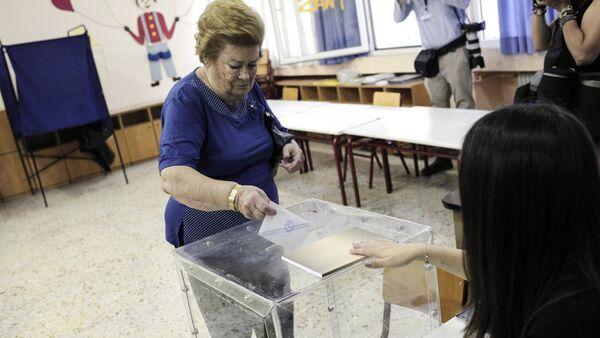 Референдум в Греции - Sputnik Абхазия