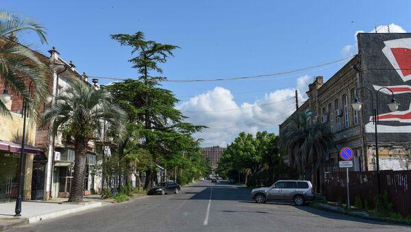 Улица Конфедератов. - Sputnik Абхазия