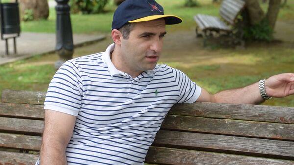 Саид Хашба рассказал о своих эмоциях от первого выступления в КВН - Sputnik Абхазия