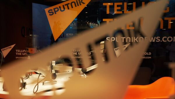 Павильон международного информационного бренда Спутник. Архивное фото. - Sputnik Абхазия