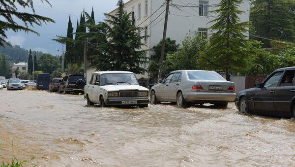 потоп  - Sputnik Абхазия