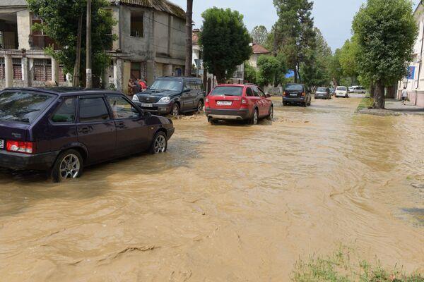 потоп в Сухуме - Sputnik Абхазия