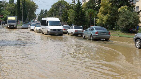 Потоп в Сухуме. Архивное фото. - Sputnik Абхазия