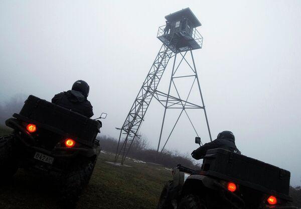 На границе Украины и Словакии. Архивное фото. - Sputnik Абхазия