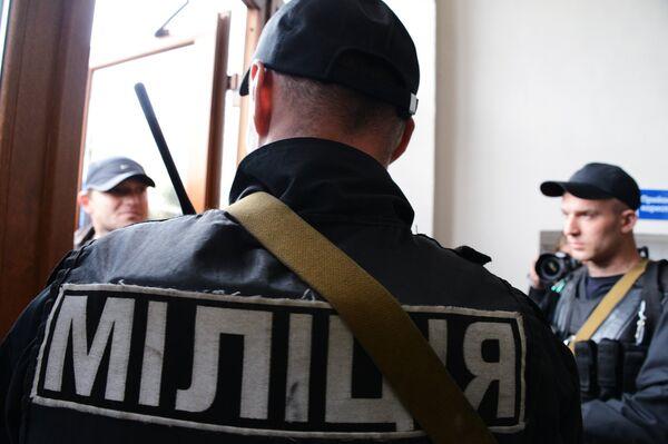 Сотрудники МВД Украины. Архивное фото. - Sputnik Абхазия