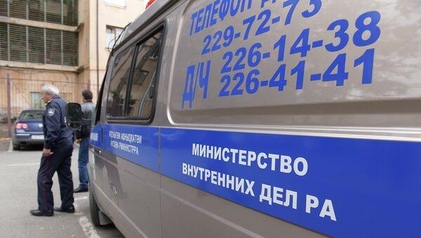 Архивное фото служебного автомобиля МВД Абхазии - Sputnik Аҧсны