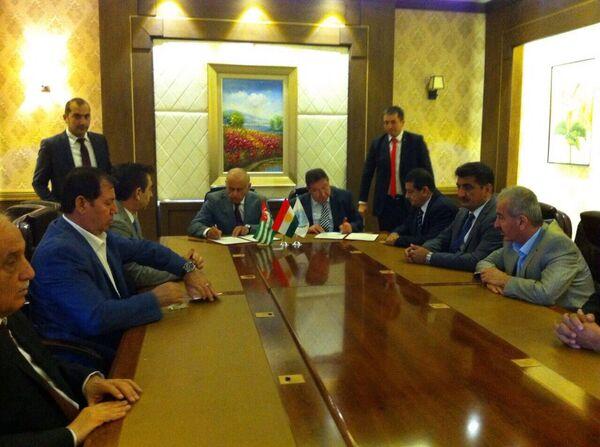 Делегация ТПП РА посетила Эрбиль (Иракский Курдистан). Фото с места события. - Sputnik Абхазия