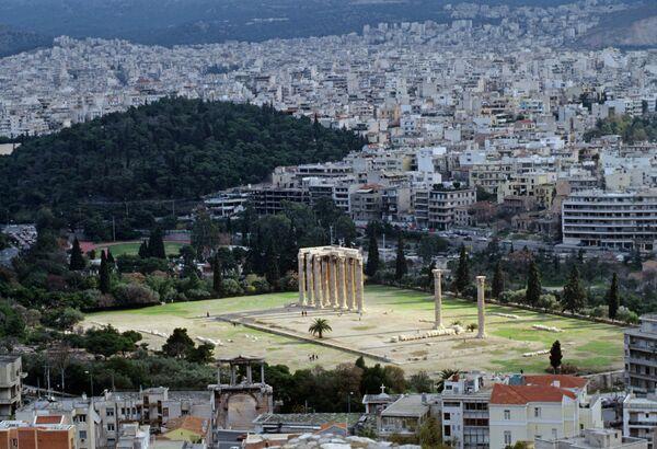 Вид на Афины с высоты Акрополя - Sputnik Абхазия