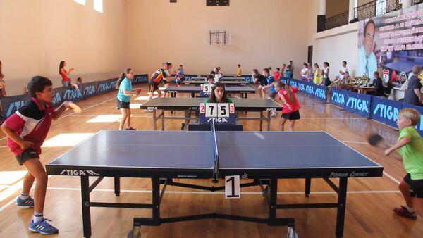 Турнир по пинг-понгу стартовал в Сухуме - Sputnik Абхазия