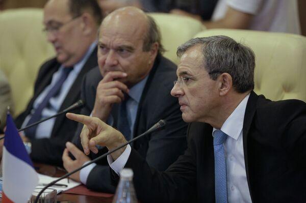 Визит французской делегации в Крым - Sputnik Абхазия