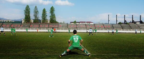 Игра сборной Абхазии по футболу. Архивное фото. - Sputnik Абхазия
