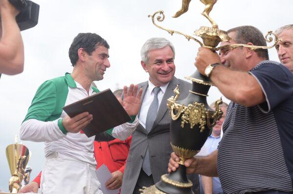 Международный турнир по конному спорту на Кубок президента Абхазия - Sputnik Абхазия