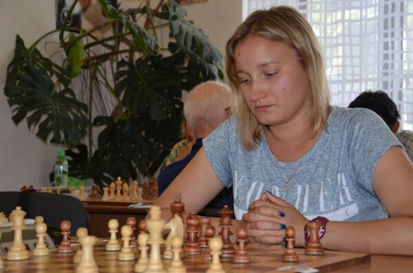 Шахматный турнир Сухум Опен - 2015 - Sputnik Абхазия
