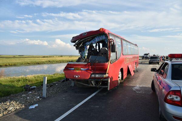 ДТП с автобусами в Хабаровском крае - Sputnik Абхазия