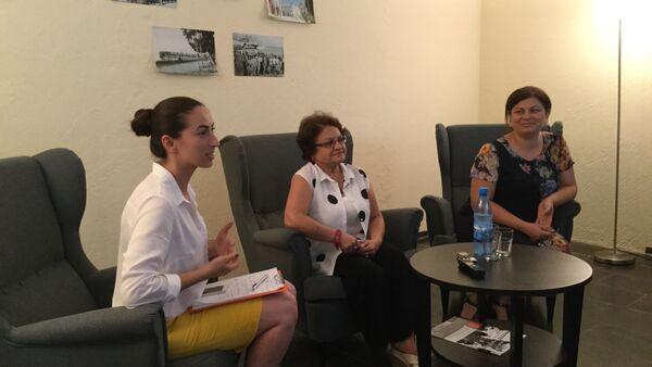 Встреча в биографическом салоне. - Sputnik Абхазия