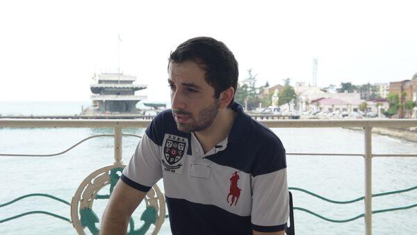 Нарт Дамей Чамба о подготовке к Летнему Кубку КВН летом 2008 года - Sputnik Абхазия
