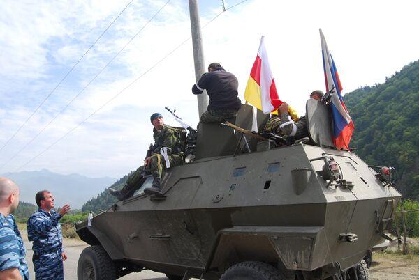 Цхинвал в августе 2008 года - Sputnik Абхазия