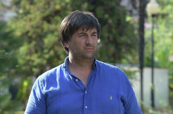 Руководитель команды Нарты из Абхазии Вианор Бебия. - Sputnik Абхазия