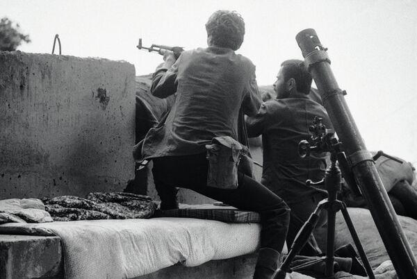 Грузино-абхазский конфликт 10.09.1992. - Sputnik Абхазия