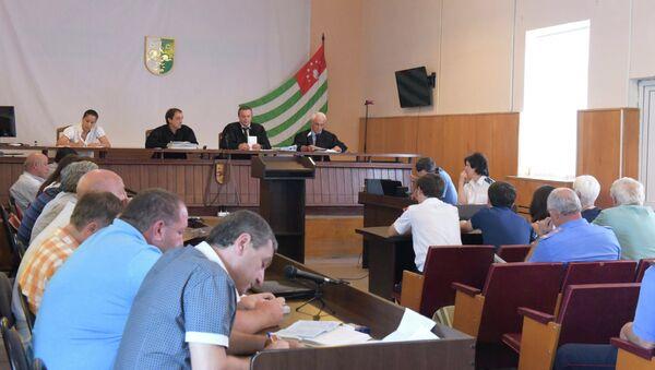 Суд по делу о покушении на Анкваба. - Sputnik Абхазия
