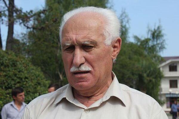 Героя Абхазии, генерал-лейтенант Гиви Агрба. Архивное фото. - Sputnik Абхазия