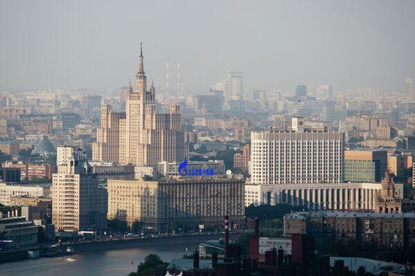 Дом правительства РФ и высотное здание на Кудринской площади - Sputnik Абхазия