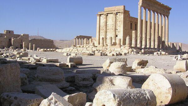 Развалины древнего города Пальмира - Sputnik Абхазия