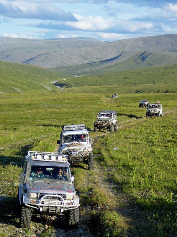 Впервые соревнования по джип-триалу пройдут в Абхазии. Архивное фото. - Sputnik Абхазия