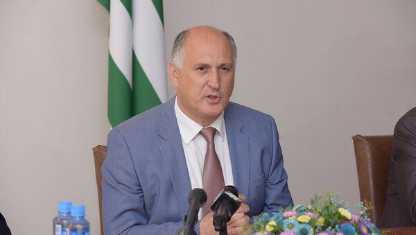 Пресс-конференция Чирикба В.А. - Sputnik Абхазия