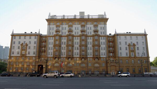 Здание американского посольства в Москве - Sputnik Абхазия