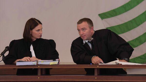 Заседание суда по делу Климантович. - Sputnik Абхазия