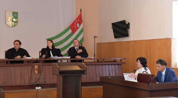 Заседание суда по делу Климантович. Фото с места события. - Sputnik Абхазия