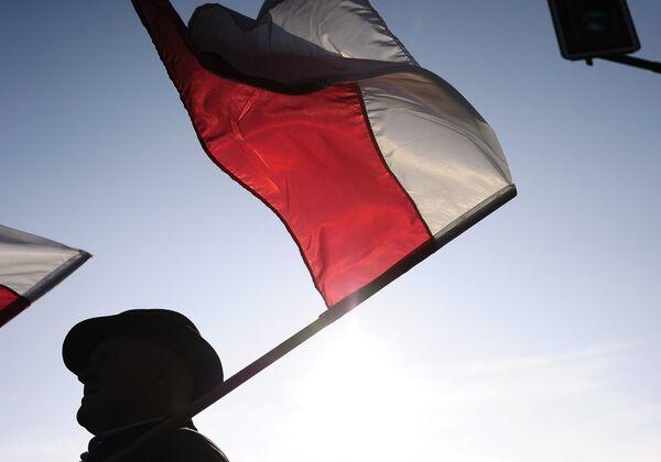 Флаг Польши. Архивное фото. - Sputnik Абхазия