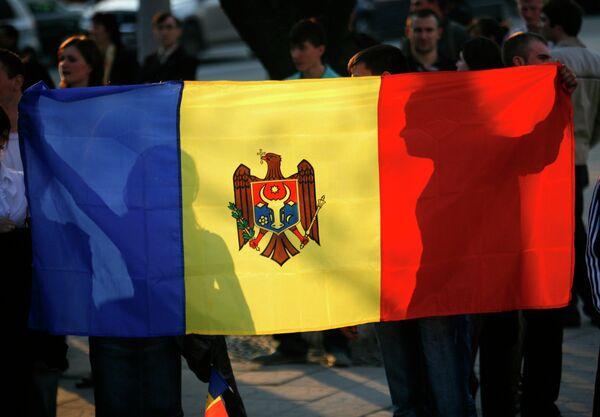 Флаг Молдавии. Архивное фото. - Sputnik Абхазия