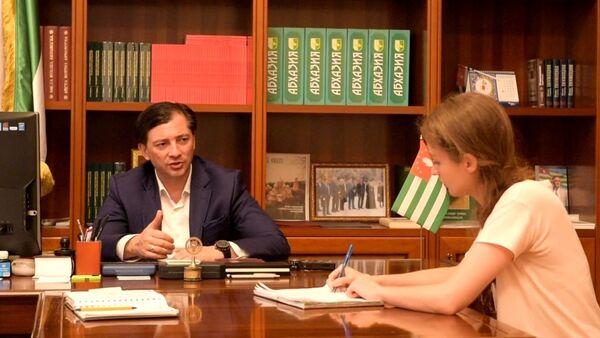 Виталия Габния. видео - Sputnik Абхазия
